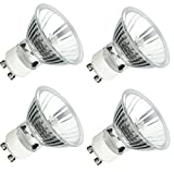 4Pack, GU10 120V 50W MR16 Q50MR16 50 watts JDR Halogen Bulb Lamp