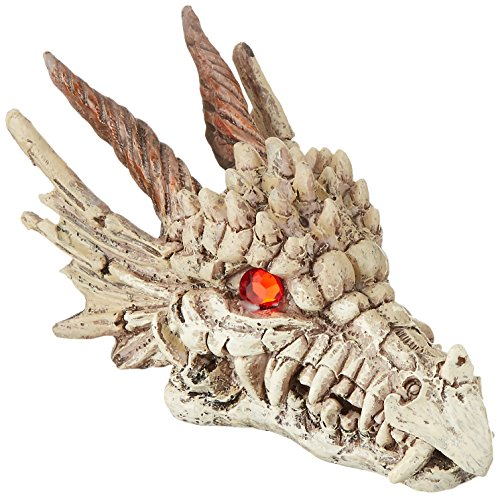 51GjahWbIeL - Penn-Plax RR1206 Dragon Skull Gazer Ornament