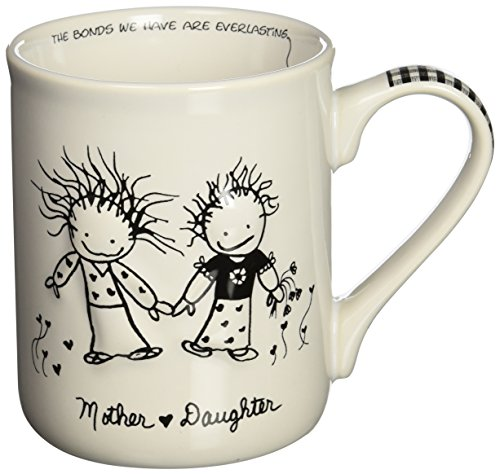 Enesco Children of the Inner Light Mom (From Daughter) Stoneware Gift Mug, 16 oz. (Mug Enesco)