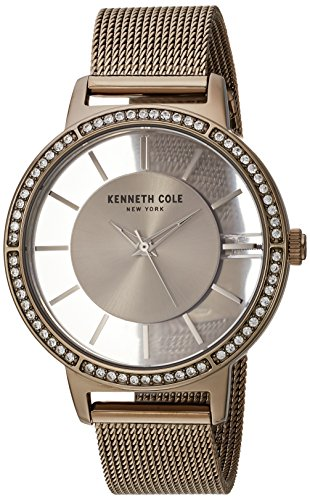 Kenneth Cole New York Women's Quartz Stainless Steel Casual Watch, Color:Gold-Toned (Model: KC15172001)