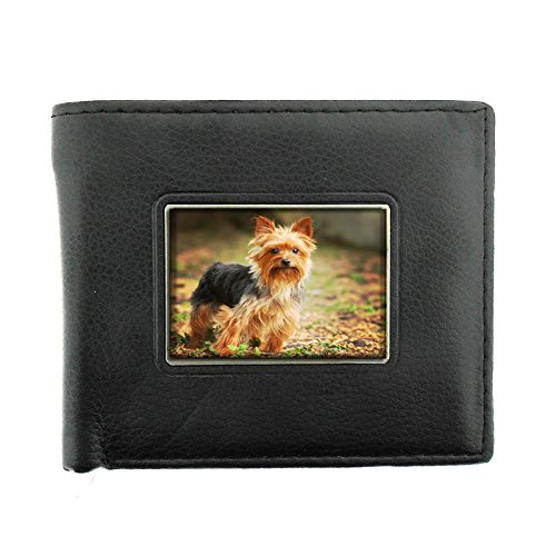 Dog yorkshire terrier Bifold Wallet