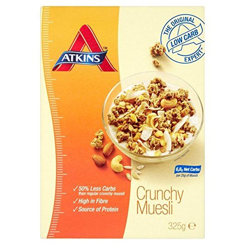 Low Carb Yogurt (Atkins Day Break Muesli Cereal 325g)