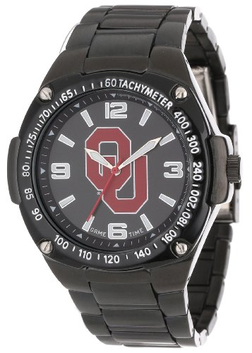 Game Time Unisex COL-WAR-OK Warrior Oklahoma Analog 3-Hand Watch
