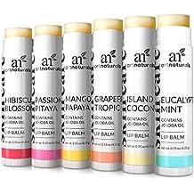 ArtNaturals Natural Lip Balm Beeswax, Assorted Flavors