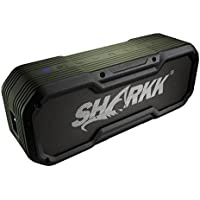 Sharkk Commando+ Bluetooth Speaker IP65 Wireless Waterproof Speaker with 6600mAh Power Bank and 16 Hours+ Battery Life