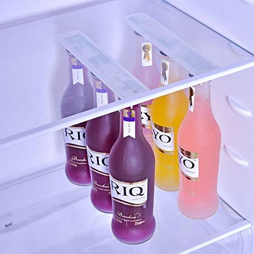 Wuudi - 1 Organizador magnético para Botellas de frigorífico, para ...