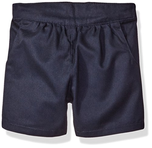 Price comparison product image Eddie Bauer Girls' Twill Short (More Styles Available), Pull on Navy, 14