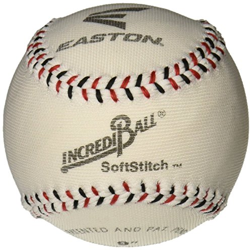 (Easton 9 in Soft stitch Incrediball, White)
