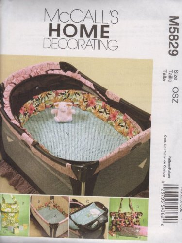 McCall's Patterns M5829 Baby Items, One Size ()