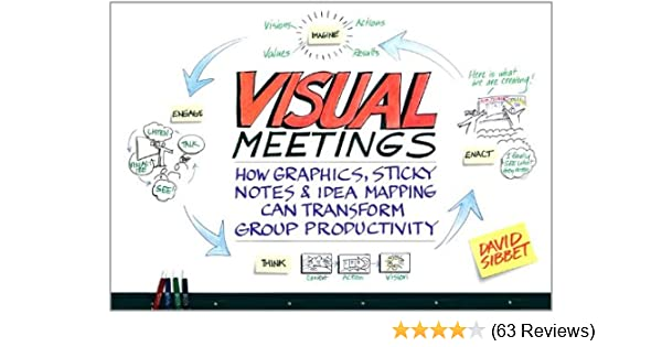Amazon visual meetings how graphics sticky notes and idea amazon visual meetings how graphics sticky notes and idea mapping can transform group productivity ebook david sibbet kindle store fandeluxe Images