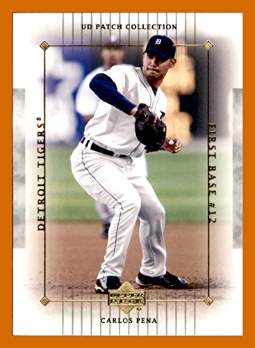 2003 Upper Deck Patch - 2003 Upper Deck UD Patch Collection #39 Carlos Pena DETROIT TIGERS MLB Network Analyst