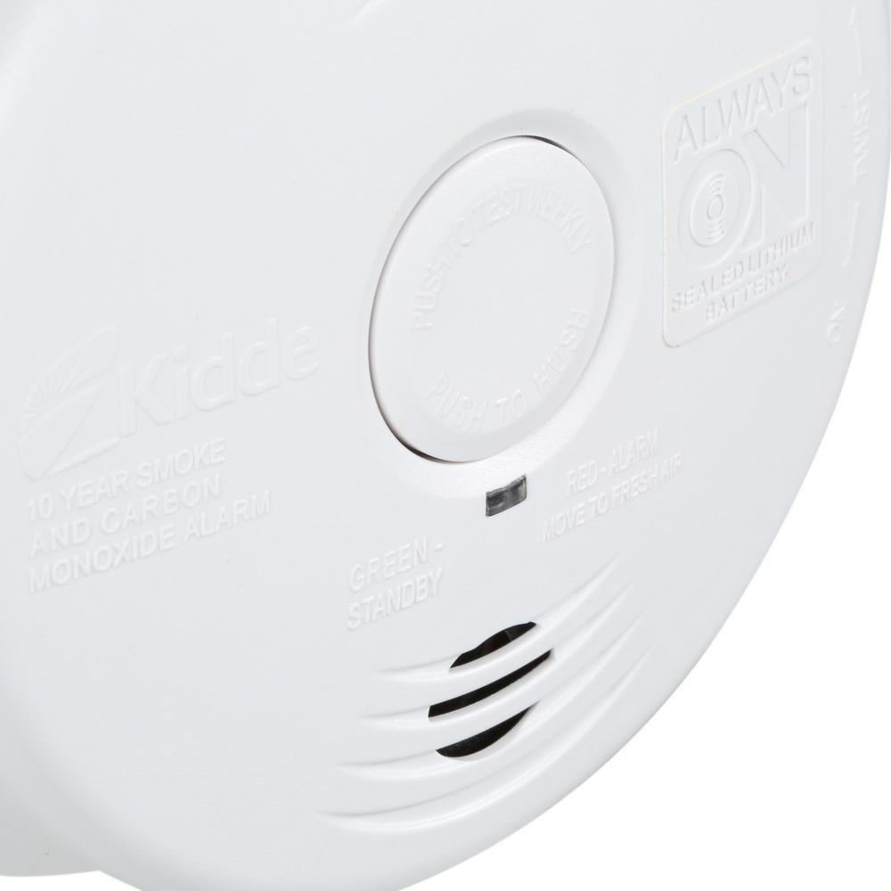 Worry-Free Hardwired Smoke & Carbon Monoxide Alarm with Lithium Battery Backup I12010SCO by Kidde (Image #8)