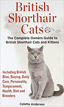 British Shorthair Cats, The Complete Owners Guide to British Shorthair Cats and KittensIncluding British Blue, Buying, Daily Care, Personality, Temperament, Health, Diet and Breeders