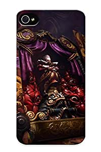 Hard Plastic Iphone 4/4s Case Back Cover, Hot Castlevania Lords Of Shadow 2 Case For Christmas's Perfect Gift