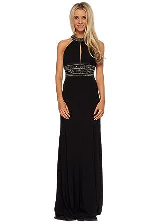 Halter neck maxi dress uk
