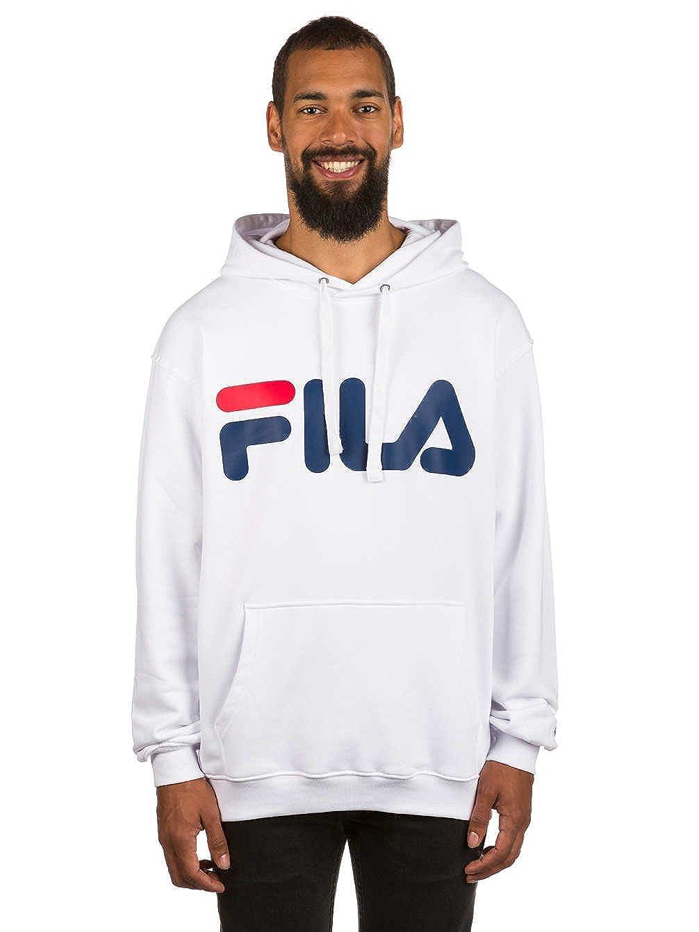 TALLA L. Fila Classic Logo Hoody, Sudadera