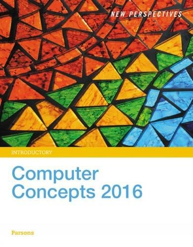 New Perspectives on Computer Concepts 2016 Introductory MindTap Course List