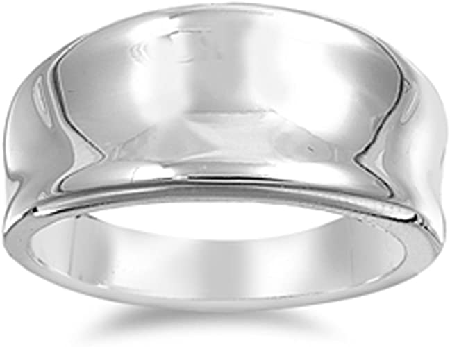 Silver Jewellery,Hammered Silver Ring,Wide silver ring Sterling Silver 925 With Gold Polish Handmade Silver Ring,Silver Ring Handmade