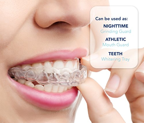 Mouth Guard for Teeth Grinding, Professional Dental Guard And Sleep Aid Custom Fit Night Dental Guard With Case For Sleeping by Arishine (Image #1)