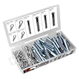 Performance Tool W5359 74pc Universal Clevis Pin Assortment