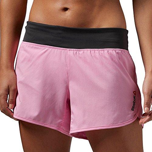 Reebok One Series 4pulgadas Woven Pantalones Cortos, Icono Rosa rosa - Icono Pink