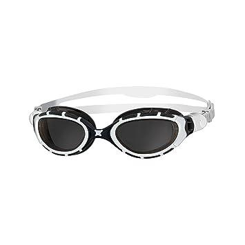 Zoggs Predator - Gafas de natación, color blanco / negro: Amazon.es: Deportes y aire libre