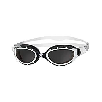 Zoggs Predator Flex - Lunettes de natation - blanc/noir 2018 Lunettes de natation tubk4