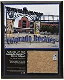 MLB Colorado Rockies Coors Field 8x10 Dirt Plaque