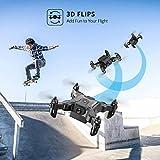 4DRC V2 Foldable Mini Drone for Kids Beginners,RC
