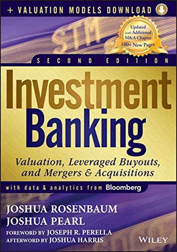Investment Banking:Valuation.. W/Access