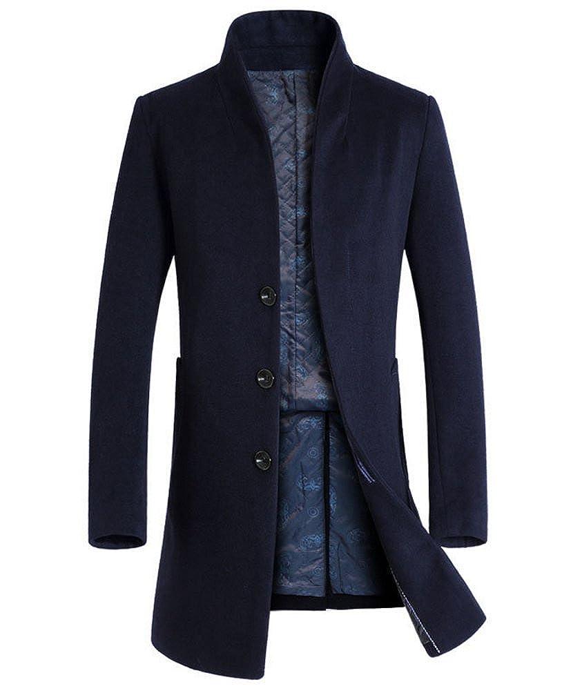 Brinny - Abrigo - para Hombre Azul Azul Marino