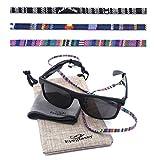 Glasses Strap – Sunglasses Holder [3 Pack + Bonuses], Eyewear Retainer – Eyeglass