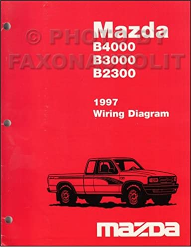 1997 mazda b4000 b3000 b2300 pickup truck wiring diagram manual rh amazon com 1967 Chevelle Wiper Motor Wiring Diagram Toyota Pickup Wiring Diagrams