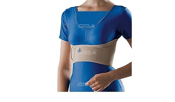 Para contusión de costillas rotas, dolor torácico por la tos, costocondritis, artrosis, trastorno del tejido blando. Correa para distribución ...