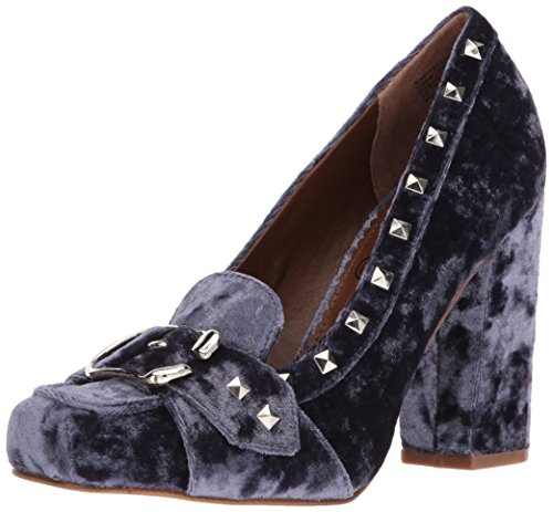 Naughty Monkey Women's Smooth Talk Dress Pump, Navy, 9 M US - Naughty Monkey Shoes Com