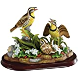 Andrea by Sadek Meadowlark Family Bird Figurine