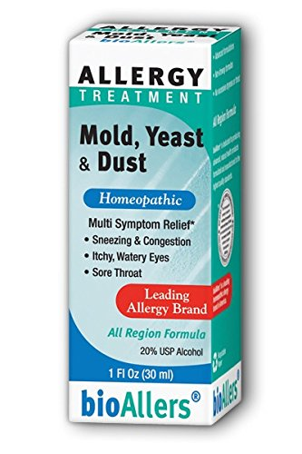 (BioAllers Allergy Treatment Mold Yeast and Dust - 1 fl oz)