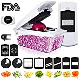 Mandoline Slicer, Godmorn ALL IN 1 Professional Vegetable Chopper...