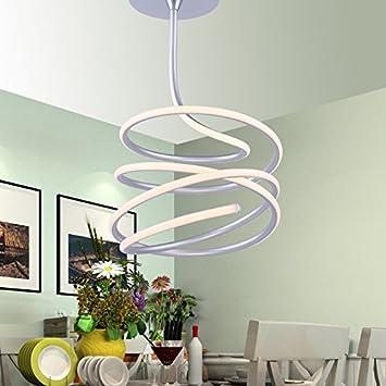 YMXJB Moderno minimalista LED techo luz colgante Lámpara de ...