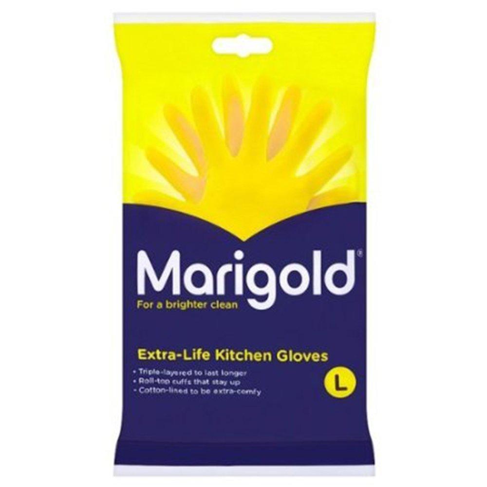 Marigolds Extra Life Kitchen Glove Large 1 x 6 pairs