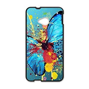 Graffiti colorful butterfly Phone Case for HTC One M7