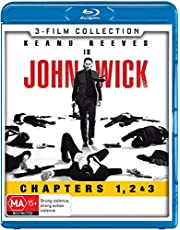 3 Movie Franchise Pack (John Wick / John Wick: Chapter 2 / John Wick: Chapter 3 Parabellum) [3 Disc] (Blu-ray)