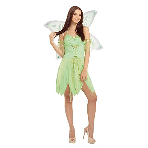 bristol novelty ac704 fairy costume green size 10 14