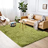 Softlife Soft Fluffy Bedroom Area Rugs 5.3' x