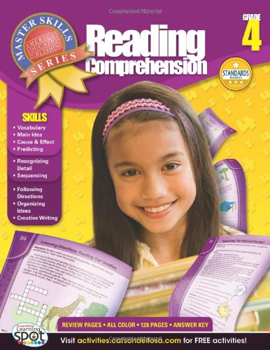 Download Reading Comprehension, Grade 4 (Master Skills) pdf