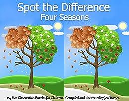 Spot the difference four seasons kindle edition by jen turner spot the difference four seasons by turner jen altavistaventures Choice Image
