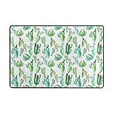 Ethel Ernest Home Decor Classic Non-slip Doormat Mexican Tropical Floral Floor Mats Door Mat Indoor Outdoor Bathroom