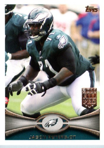 2012 Topps Football Card # 93 Jason Peters - Philadelphia Eagles (NFL Trading Card)
