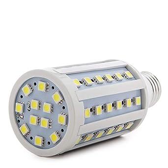 Greenice | Bombilla de LEDs E27 5050SMD 10W 900Lm 30.000H Mazorca | Blanco Frío