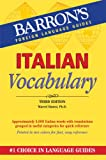 Italian Vocabulary, Marcel Danesi, 0764147692